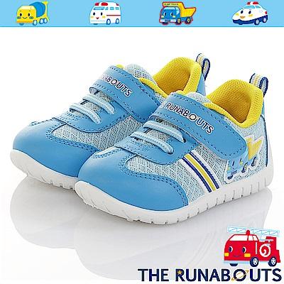三麗鷗THE RUNABOUTS童鞋 透氣輕量抗菌防臭休閒鞋-水
