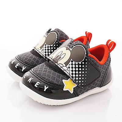 迪士尼童鞋 米奇透氣運動鞋款 ON19355黑(寶寶段)
