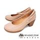 WALKING ZONE(女)復古瑪麗珍鞋 包鞋 高跟鞋 淑女鞋- 米(另有黑) product thumbnail 1