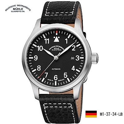 格拉蘇蒂·莫勒 運動系列 M1-37-34-LB 機械男錶