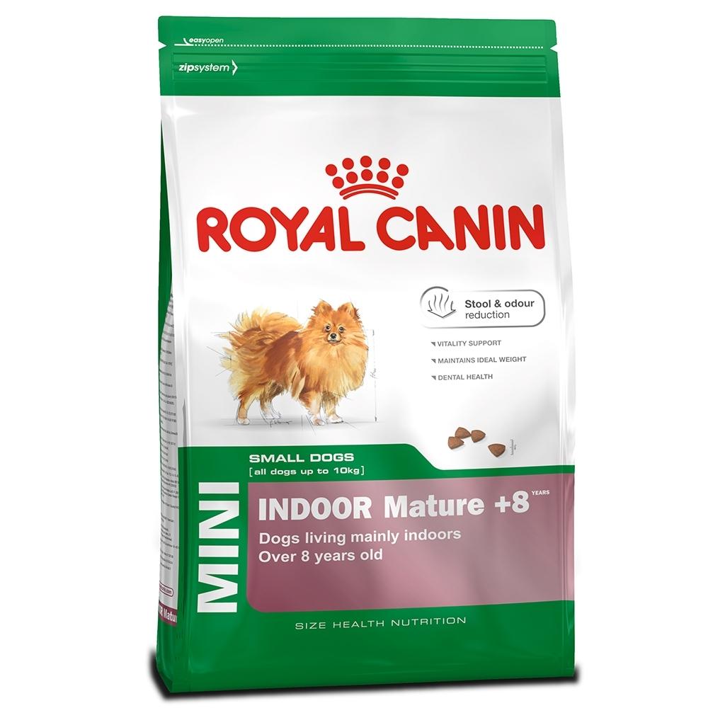 法國皇家PRIA+8《小型室內熟齡犬》狗飼料-1.5kg