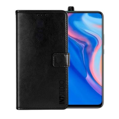 IN7 瘋馬紋 HUAWEI Y9 Prime 2019 (6.59吋) 錢包式 磁扣側掀PU皮套 吊飾孔 手機皮套保護殼