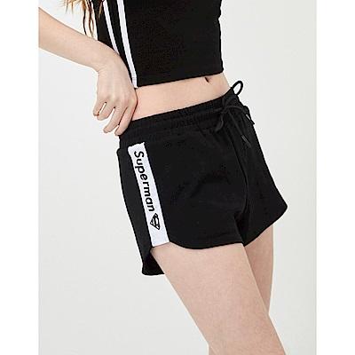CACO-超人撞色短熱褲-(兩色)-女【TDC013】