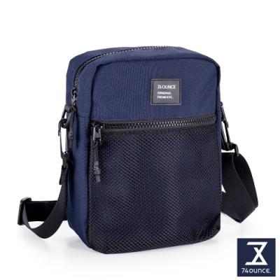 74盎司 MOBILE 網狀直立側背包[LG-899-MO-W]藍