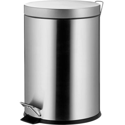 《KELA》Torre腳踏式垃圾桶(霧銀3L)