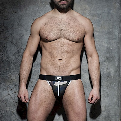 西班牙ADDICTED 迷彩拉鍊式提臀造型內褲(白)