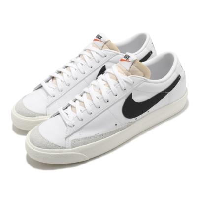 Nike 休閒鞋 Blazer Low 77 運動 男鞋 經典款 舒適 復古 簡約 球鞋 穿搭 白 黑 DA6364101