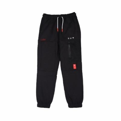 Nike 長褲 Basketball Pants 休閒 男款 Kyrie 厄文 籃球 口袋 抽繩 縮口褲 黑 白 CK6664010