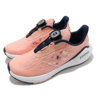 adidas 慢跑鞋 EQ21 Run BOA CNY 童鞋 愛迪達 三線 快速綁帶 運動休閒 中大童 粉 白 FZ4596