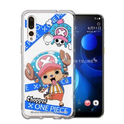 東映授權 航海王 HTC Desire 19s/19+ 共用款 透明空壓手機殼(封鎖喬巴)