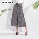 【MASTINA】經典英式格紋-寬褲(藍色) product thumbnail 1