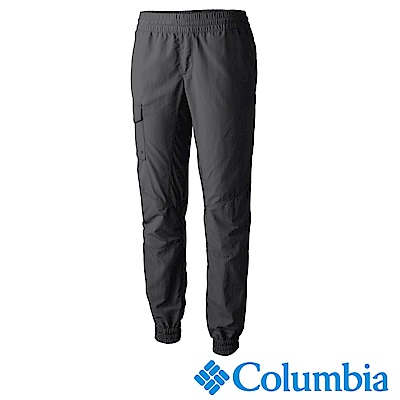 Columbia哥倫比亞 女款-抗UV50快排束口長褲-灰(UAR18150DY)
