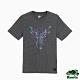 男裝Roots-極光系列動物短袖T恤-深灰色 product thumbnail 1