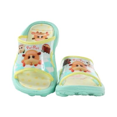 魔法Baby 男女童鞋 台灣製天竺鼠車車卡通授權正版休閒拖鞋 sa10805