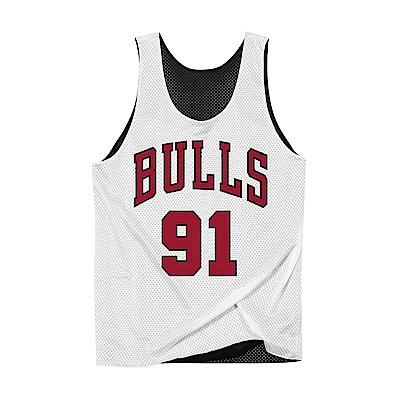 M&N 雙面球衣 公牛隊 96-97 #91 Dennis Rodman