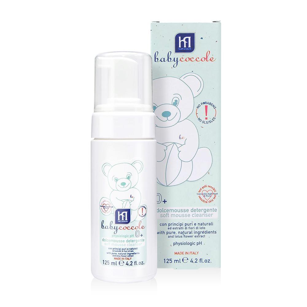 寶貝可可麗 babycoccole 護敏潔膚慕斯 (乾性肌膚、弱敏肌膚適用、溫和潔淨)