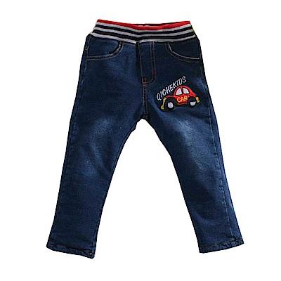 雙層加厚刷毛牛仔長褲 k60898 魔法Baby