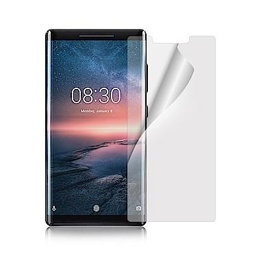 NISDA  Nokia 8 Sirocco 高透光抗刮螢幕保護貼-非滿版
