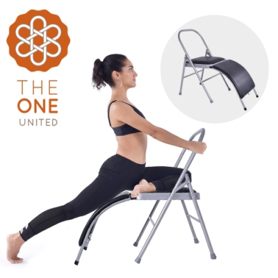 The One MIT艾楊格輔助瑜珈椅(含腰托-黑色)