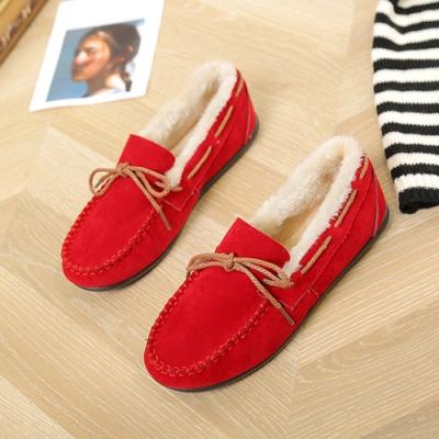 KEITH-WILL時尚鞋館 優雅氣質蝴蝶休閒鞋-紅色