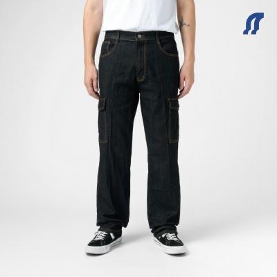 【時時樂限定】 2入組 NoMorre 伸縮直筒六口袋工作褲(4色)