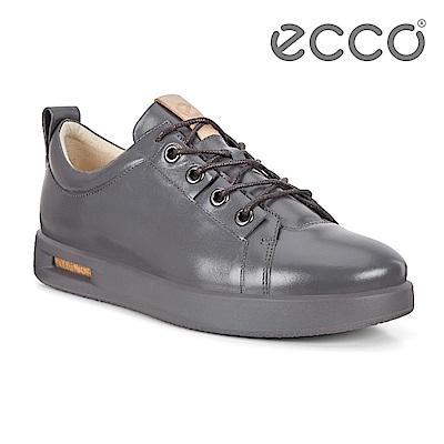 ECCO CORKSPHERE 1 M 時尚鏤空透視休閒鞋 男-灰