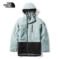 The North Face北面女款藍色防水鋪棉外套|3M19FKB