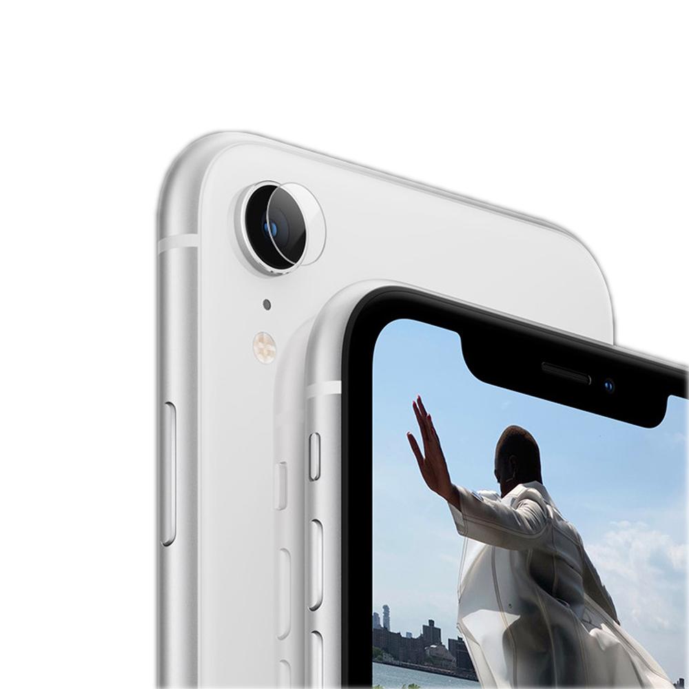 QinD Apple iPhone XR 鏡頭玻璃貼(兩片裝)
