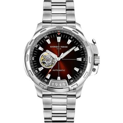 GIORGIO FEDON 1919 TIMELESS IX 鏤空機械錶(GFCK004)