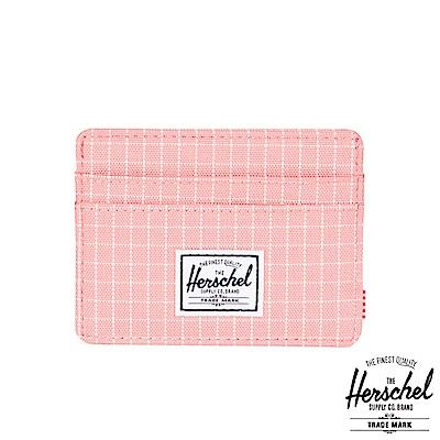 Herschel Charlie Wallet 卡夾-粉色格紋