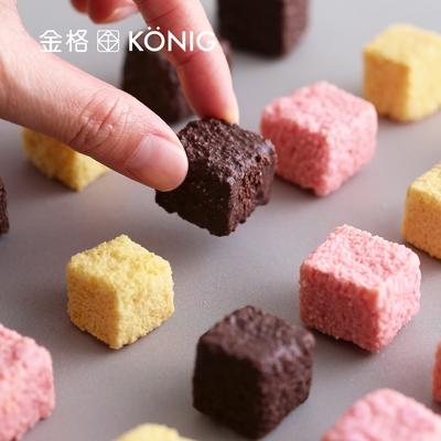 【金格食品】骰子酥隨手包-8包組(草莓/巧克力)