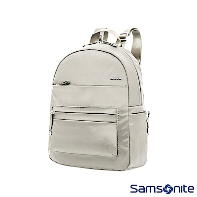 Samsonite新秀麗 Move2.0輕量簡約後背包(亮灰)