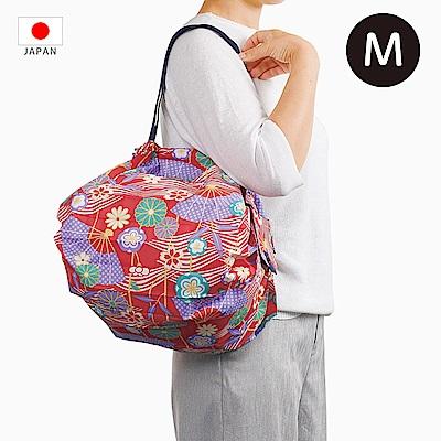【日本Marna】Shupatto 秒收摺疊環保袋 (M) 扇