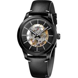 Calvin Klein Swing  雙面鏤空機械腕錶 (K9A244CY)