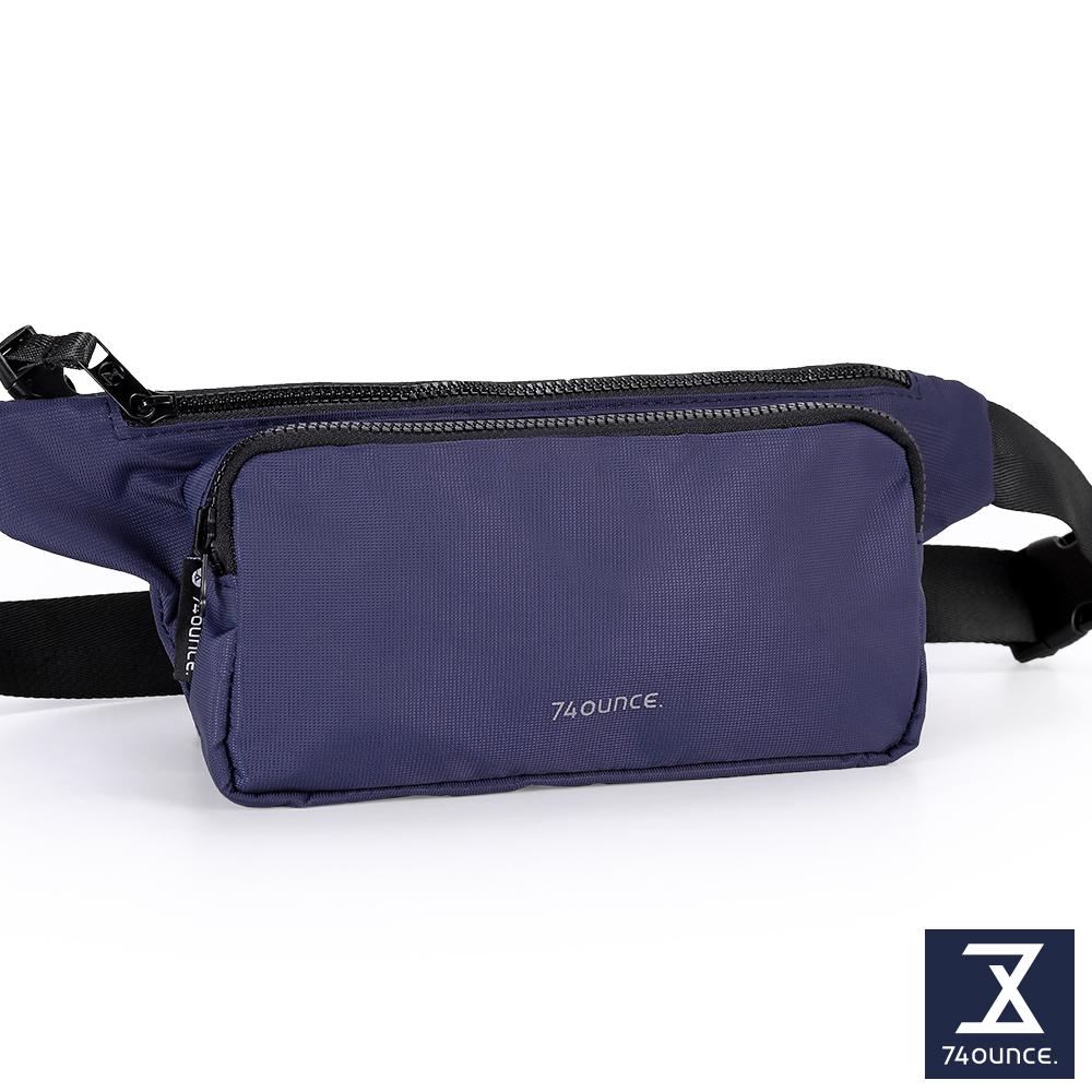 74盎司 Further 旅行腰胸包[TG-230]藍