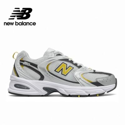 [New Balance]復古運動鞋_中性_白配黃_MR530UNX-D楦