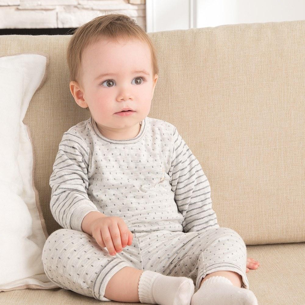 奇哥 雙面提花嬰兒長褲(12-36個月)