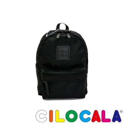 CILOCALA 限量版-亮彩尼龍防潑水BLACKY後背包(小)