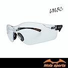 MOLA摩拉運動安全眼鏡 護目鏡 透明鏡片 腳長度角度可調 超輕量 男女可戴 SA-606