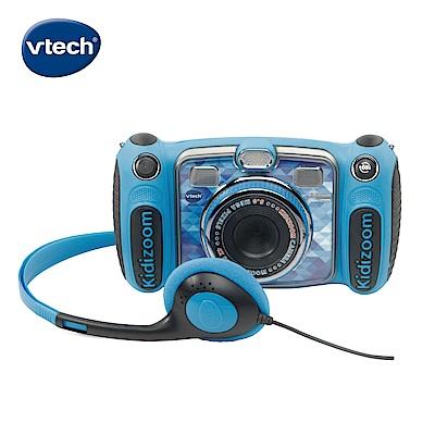 【Vtech】多功能兒童MP3遊戲相機-藍