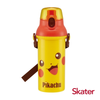 Skater直飲冷水壺 (480ml)皮卡丘FACE