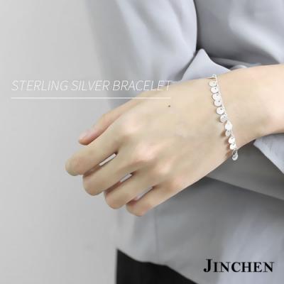 JINCHEN 純銀閃亮亮手鍊