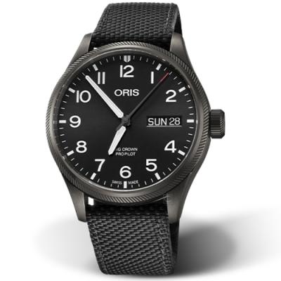 Oris豪利時CROWN PROPILOT飛行手錶-45mm