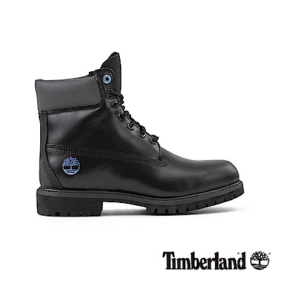 Timberland男款黑色Waterbuck 皮革6吋靴| A1Q7Y