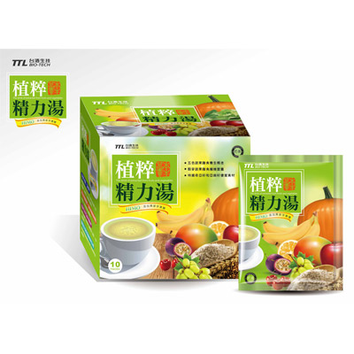TTL台酒生技 HIMO酒粕植萃精力湯(10包)*4盒
