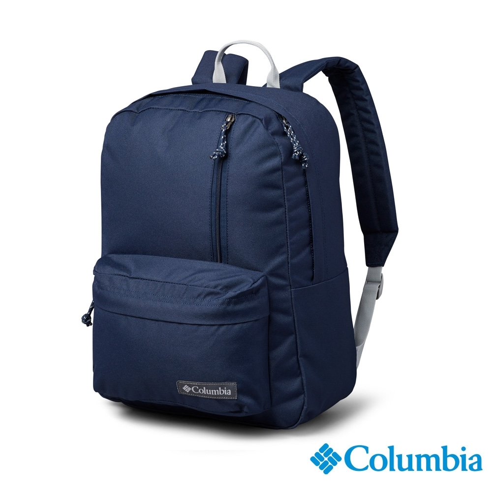 Columbia 哥倫比亞 中性-防潑後背包-深藍 UUU00670NY