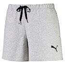 PUMA-女性基本系列URBAN SPORTS短褲-淺麻灰-歐規