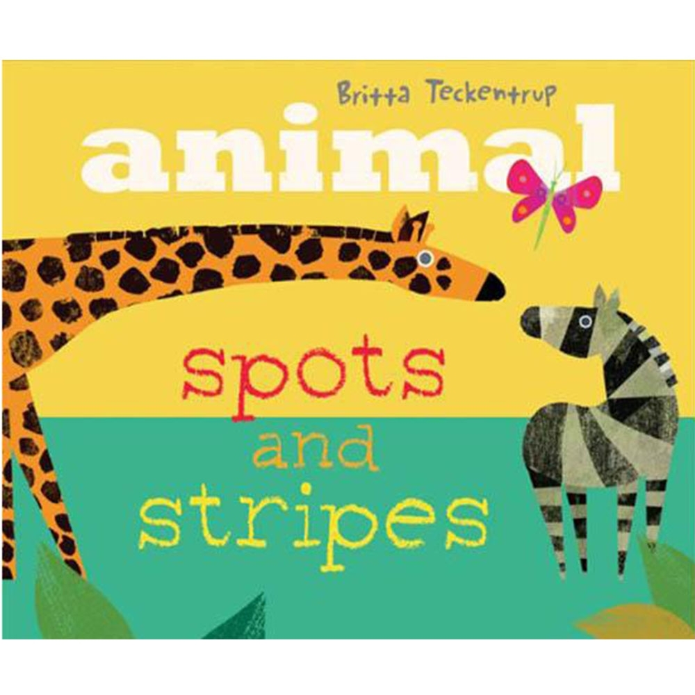 Animal Spots And Stripes 翻一翻找尋野生動物操作書 product image 1