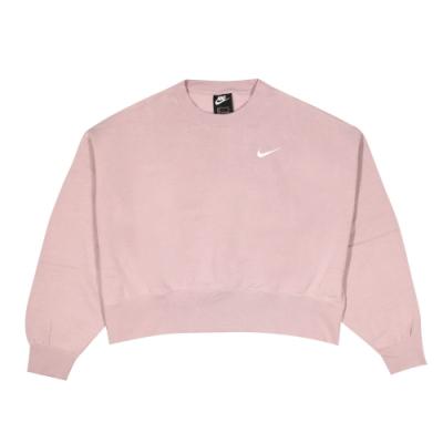 Nike 女 AS W NSW CREW FLC TREND 圓領T(長)