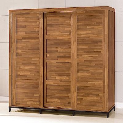 AS-亞特蘭工業風7x7尺衣櫥-211x63x216cm